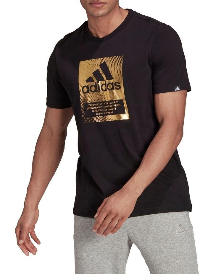 Badge Of Sport Box Foil Graphic T-Shirt image 1