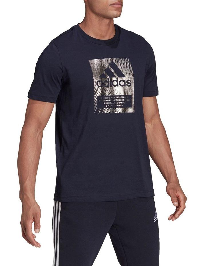 Badge Of Sport Box Foil Graphic T-Shirt image 3