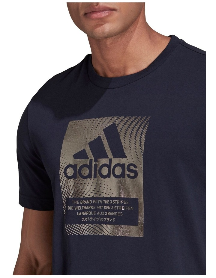 Badge Of Sport Box Foil Graphic T-Shirt image 4