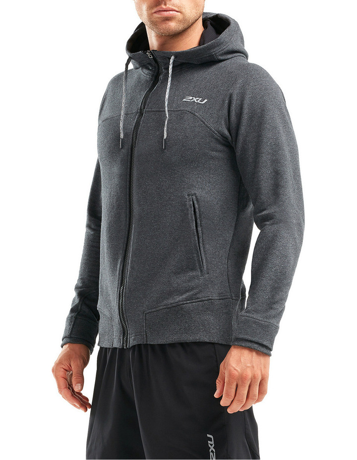 X Recovery Panelled Hoodie image 2