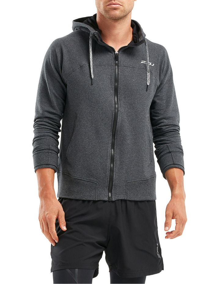 X Recovery Panelled Hoodie image 4