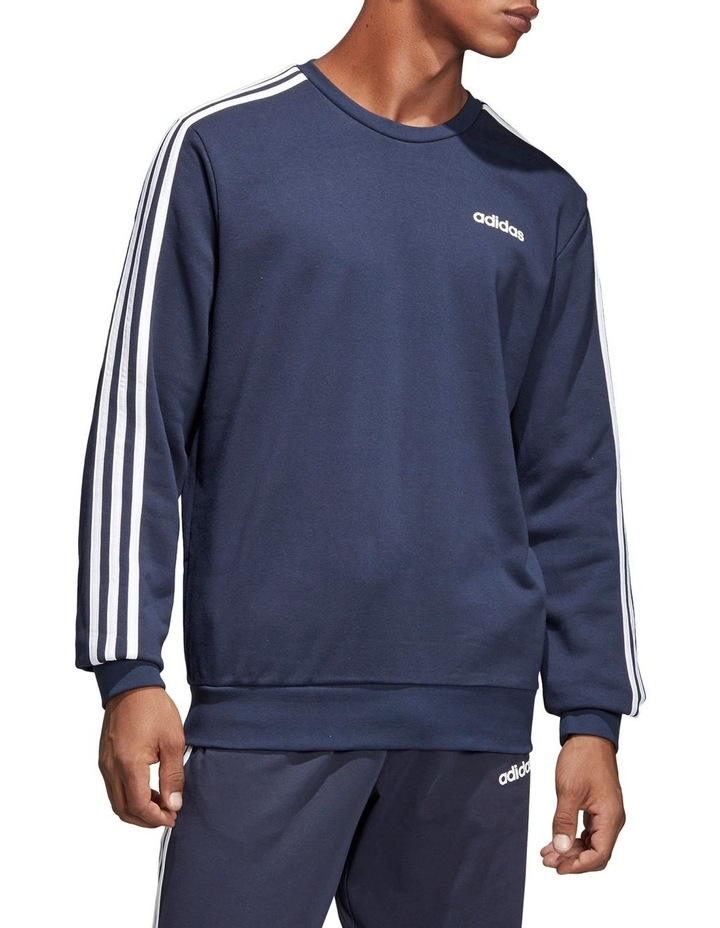 Essentials 3-Stripes French Terry Crewneck Sweat Shirt image 1