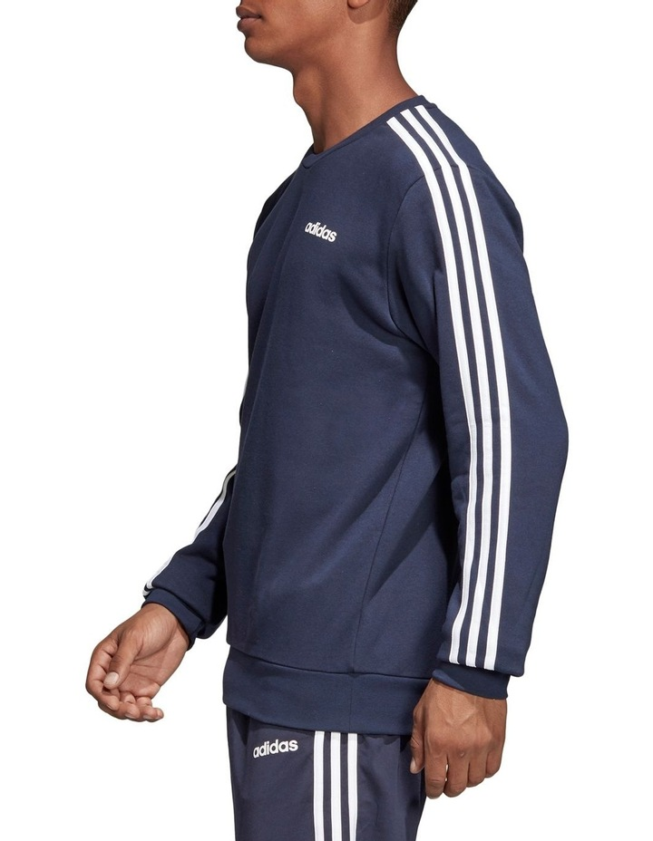 Essentials 3-Stripes French Terry Crewneck Sweat Shirt image 2