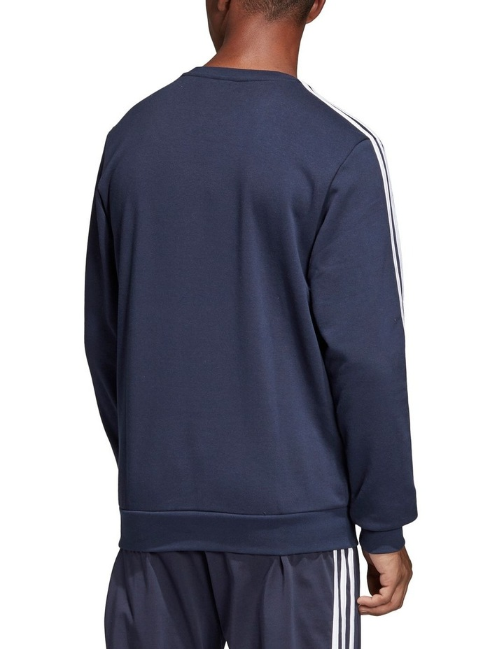 Essentials 3-Stripes French Terry Crewneck Sweat Shirt image 3