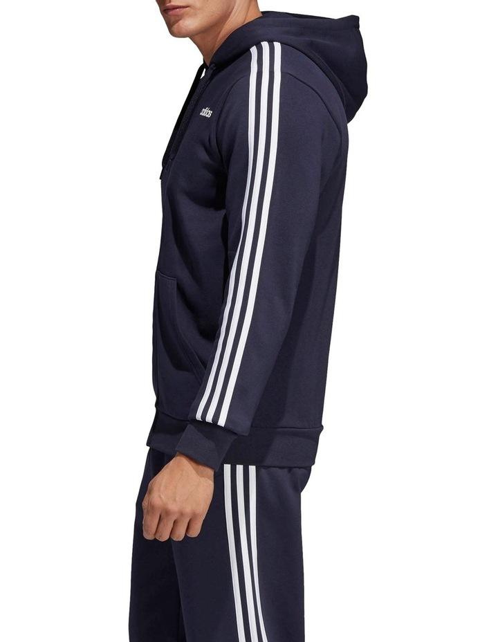 Essentials 3-Stripes Full Zip Fleece Hoodie image 2