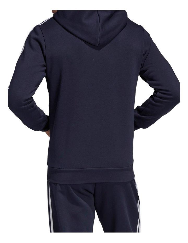 Essentials 3-Stripes Full Zip Fleece Hoodie image 3