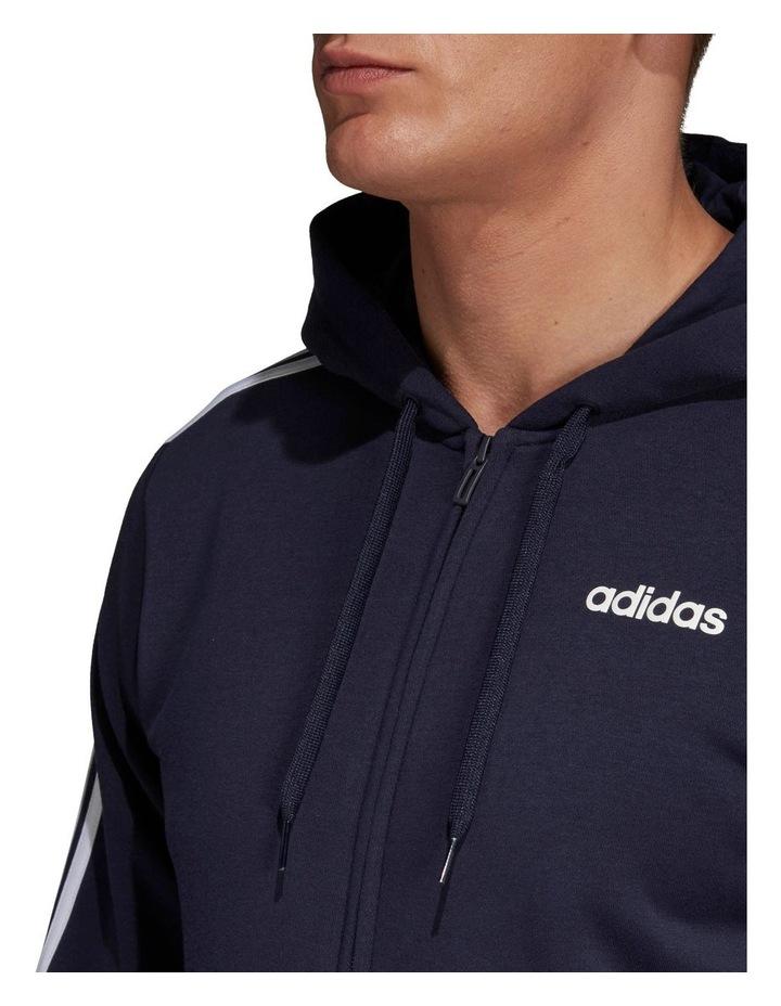 Essentials 3-Stripes Full Zip Fleece Hoodie image 4