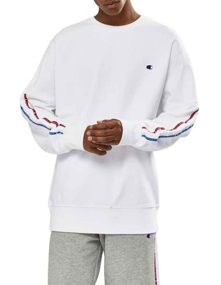 ID Collection Tape Crew Sweat Top image 1