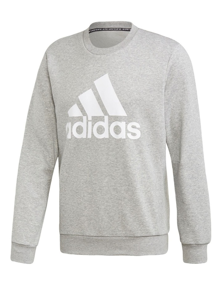 Badge of Sport French Terry Crew Sweat Top image 1