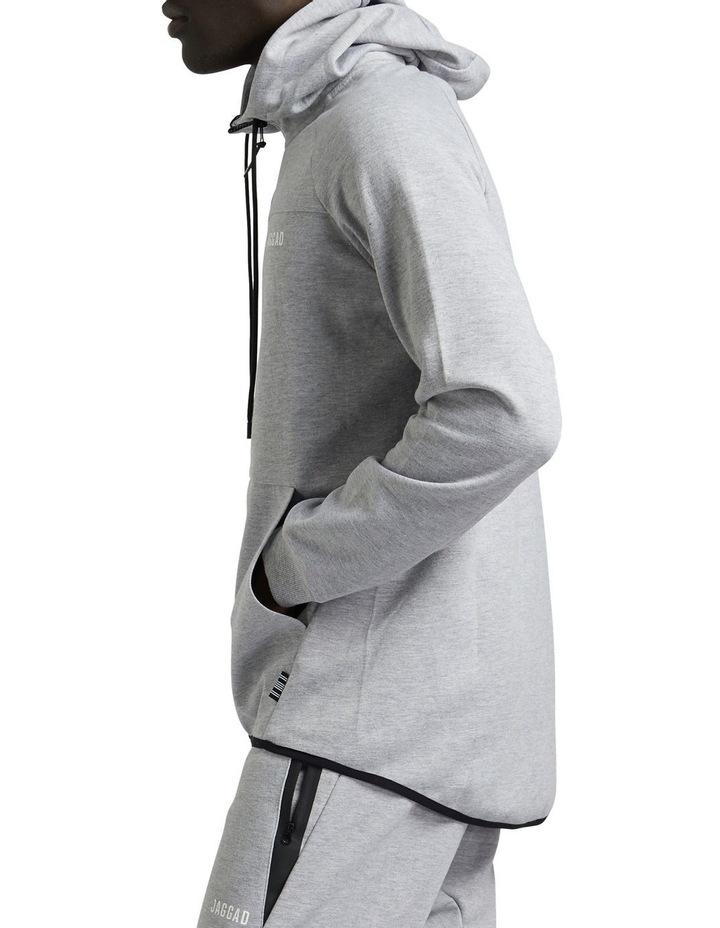 Grey Scuba Fleece Hoodie image 2