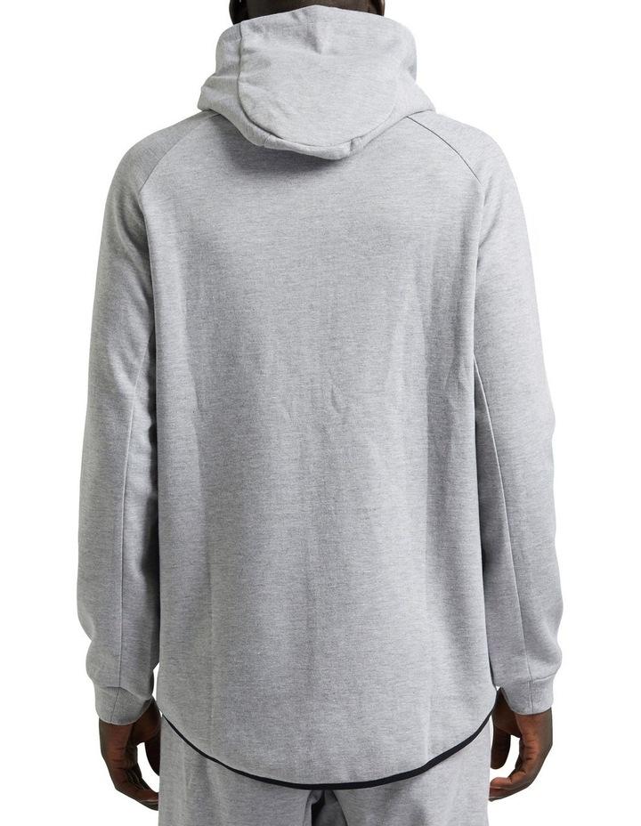 Grey Scuba Fleece Hoodie image 3