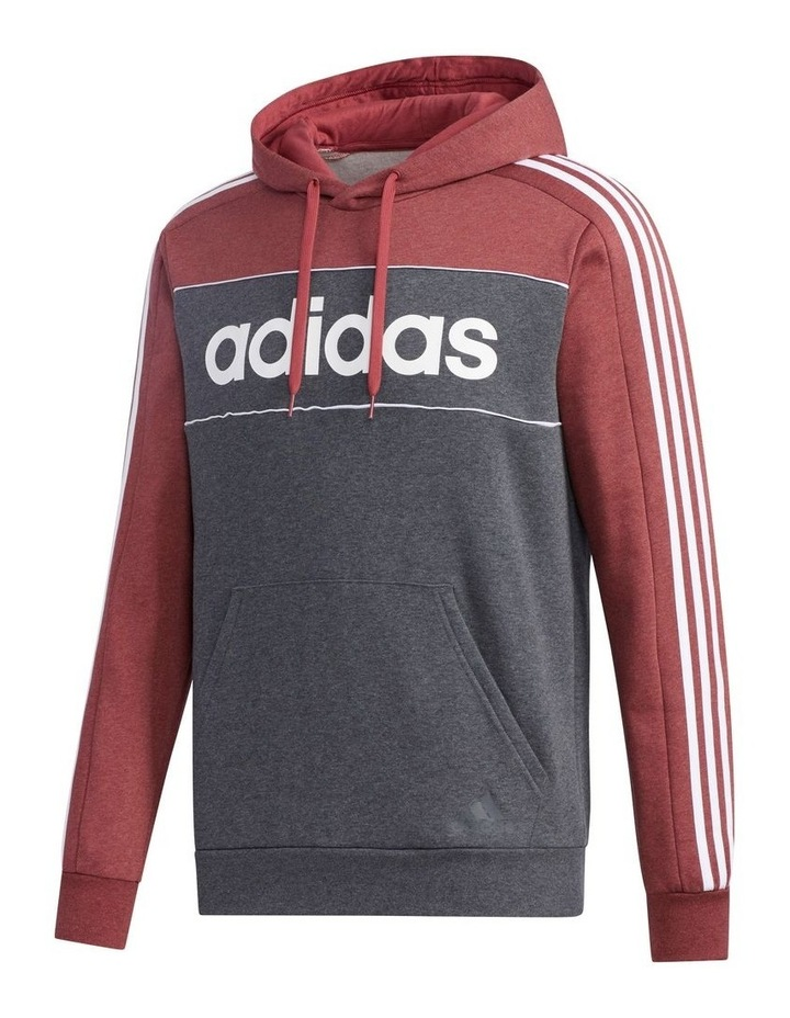 Linear Logo Pull Over Hooded Sweat image 1