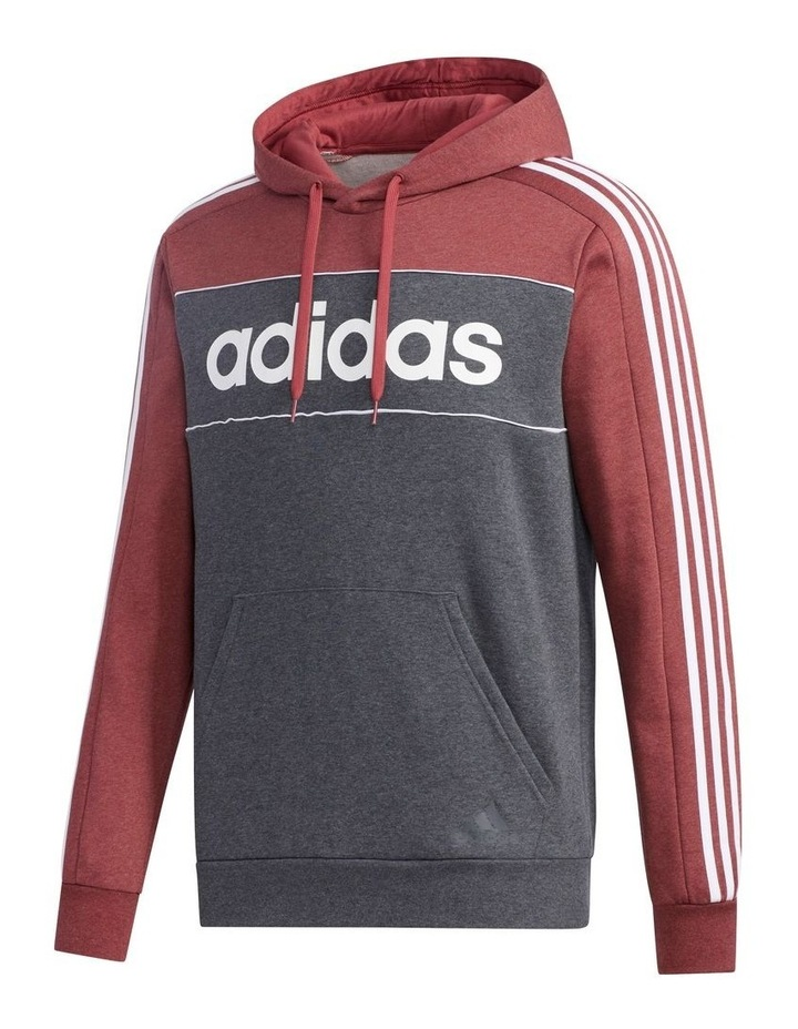 Linear Logo Pull Over Hooded Sweat image 2