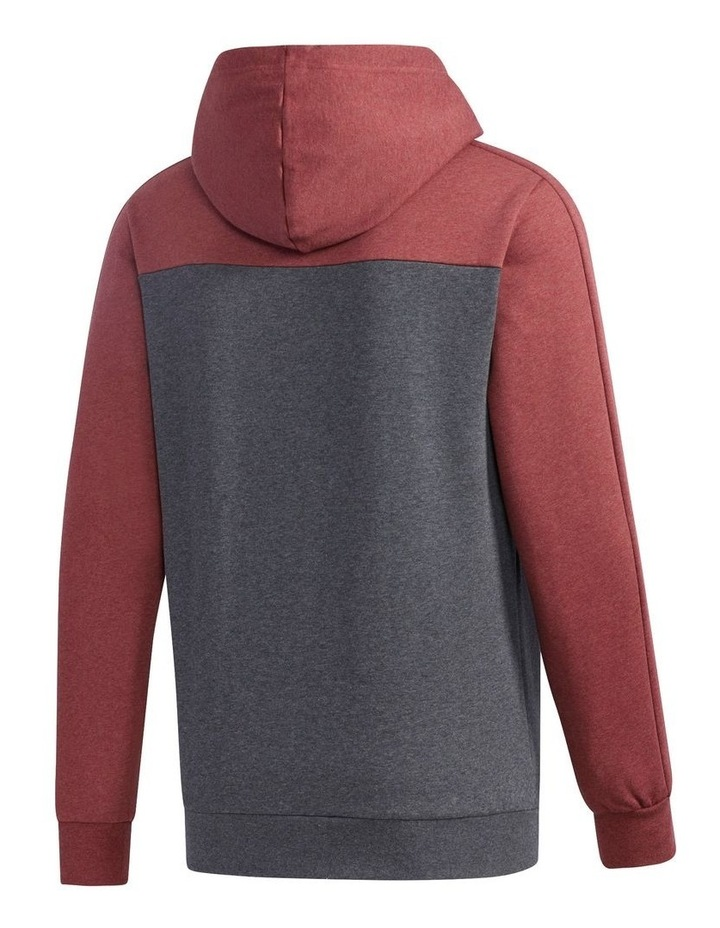 Linear Logo Pull Over Hooded Sweat image 3