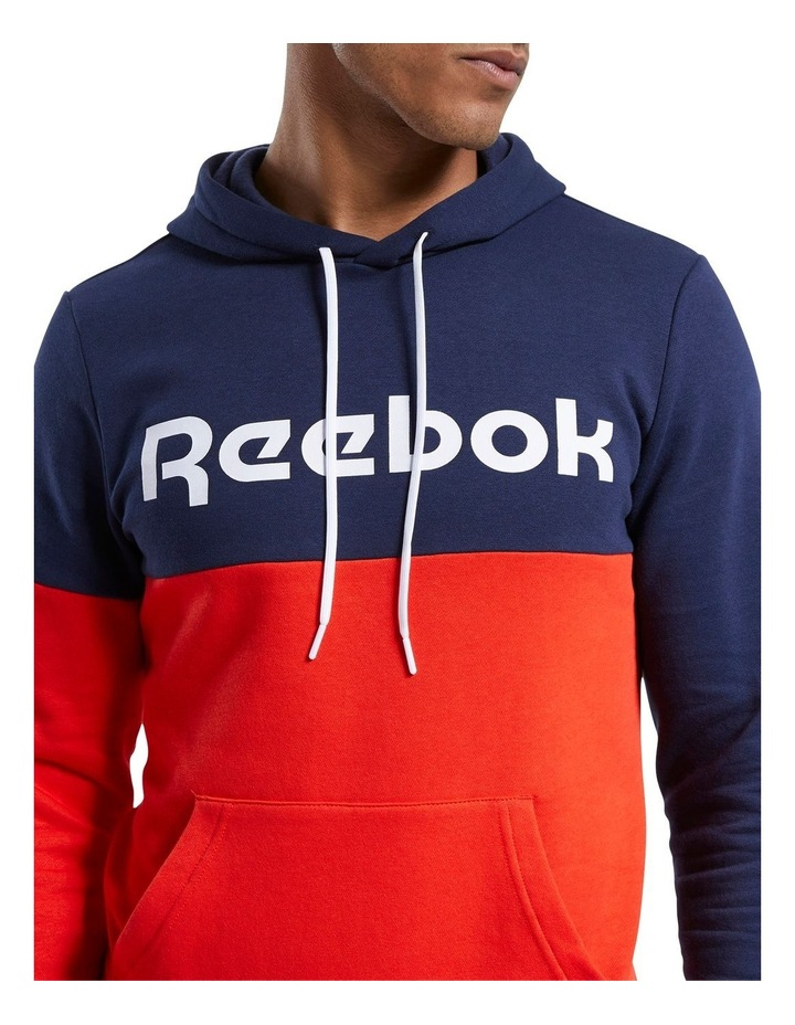 Linear Logo Pull Over Hoodie image 5