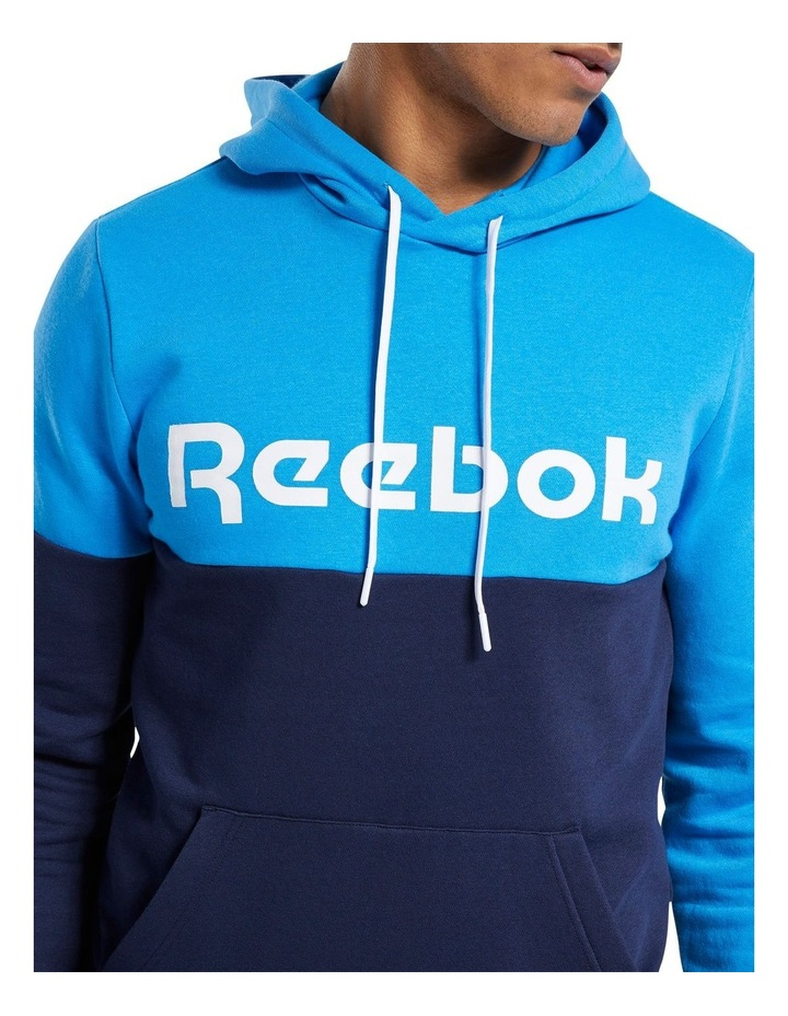 Linear Logo Pull Over Hoodie image 3