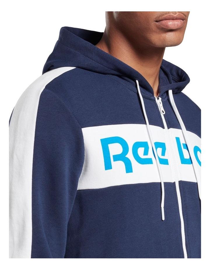 Linear Logo Full Zip Hoodie image 3