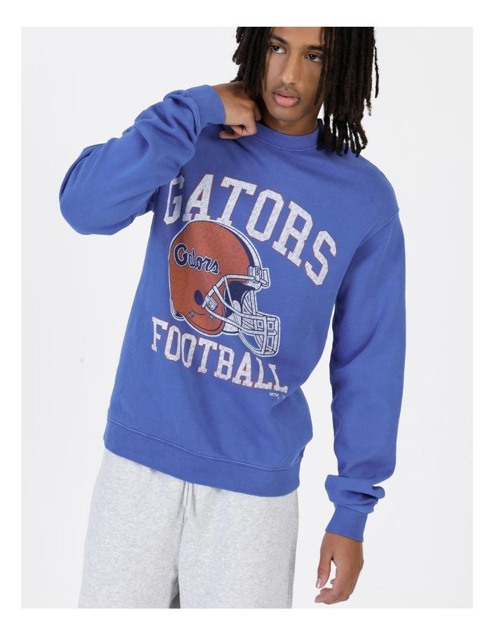NCAA Vintage Team Football Crew Blue image 2