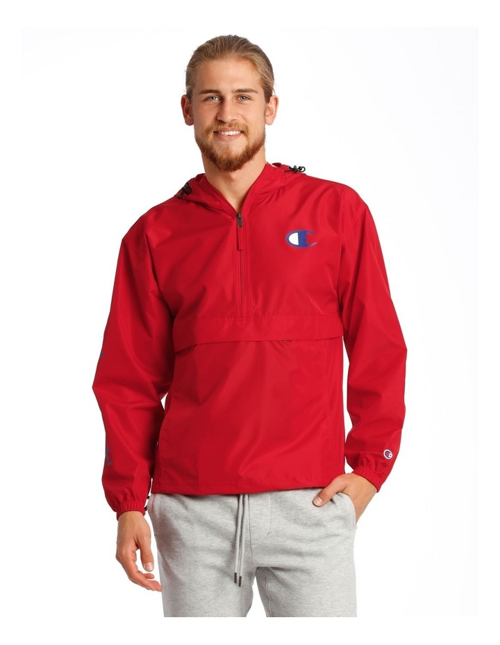 Packable 1/4 Zip Jacket image 1