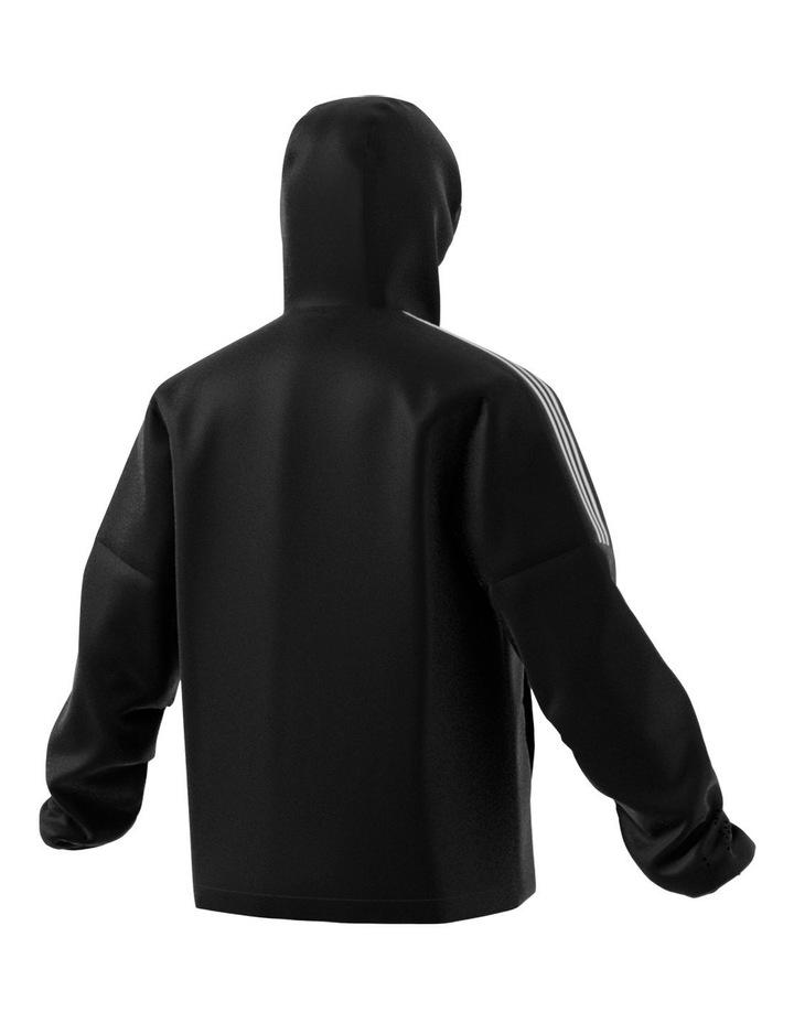 3-Stripe Hooded Jacket image 3