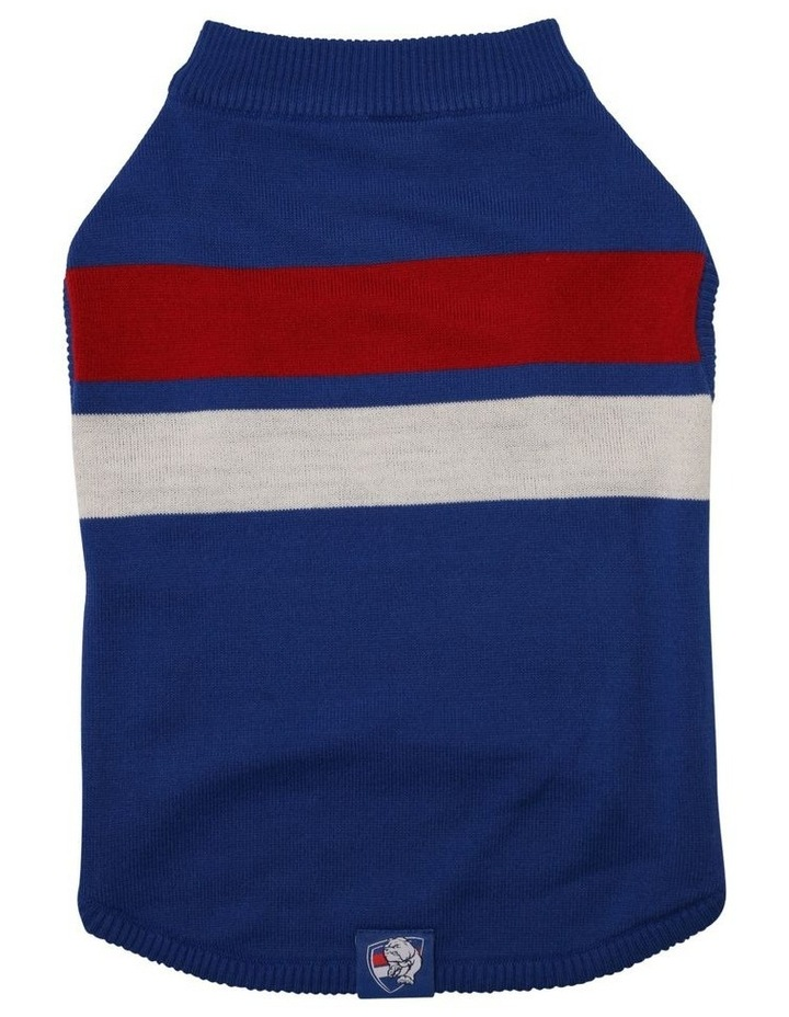 Western Bulldogs Pet Supporter Jumper Medium image 2