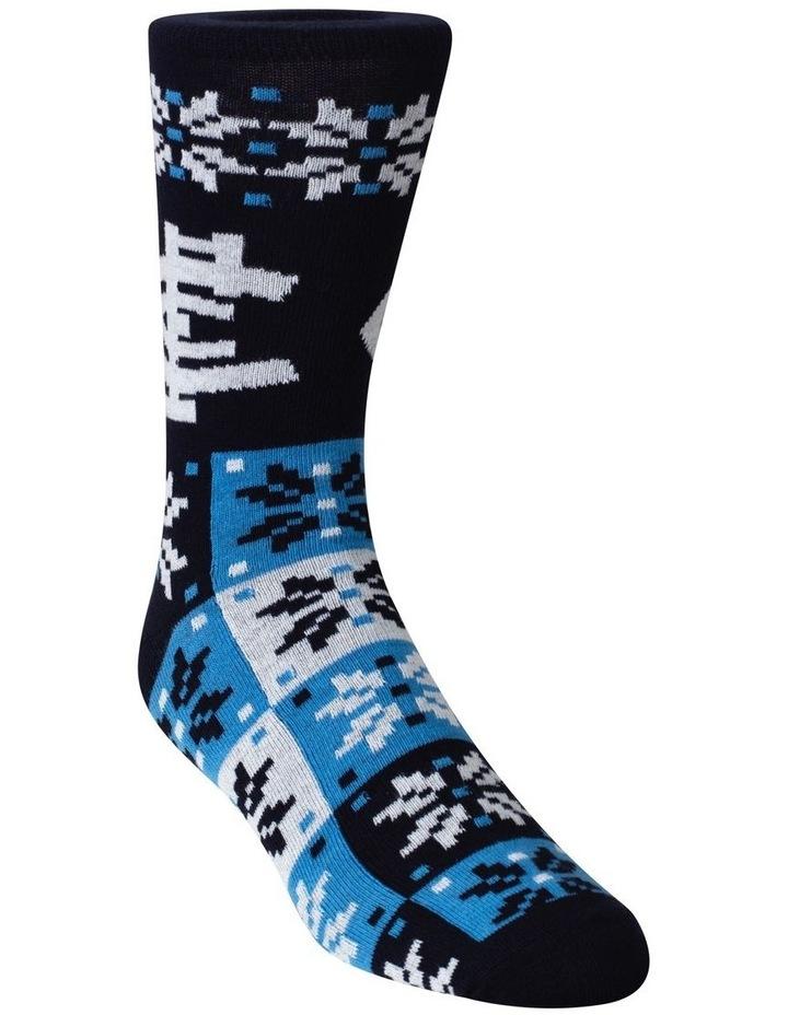 Carlton Ugly Xmas Socks image 2