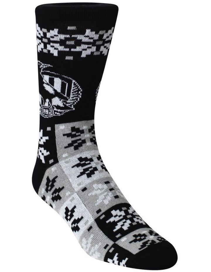 Collingwood Ugly Xmas Socks image 2