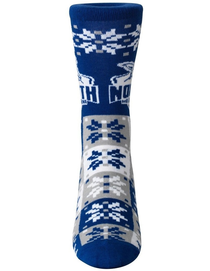 North Melbourne Ugly Xmas Socks image 1