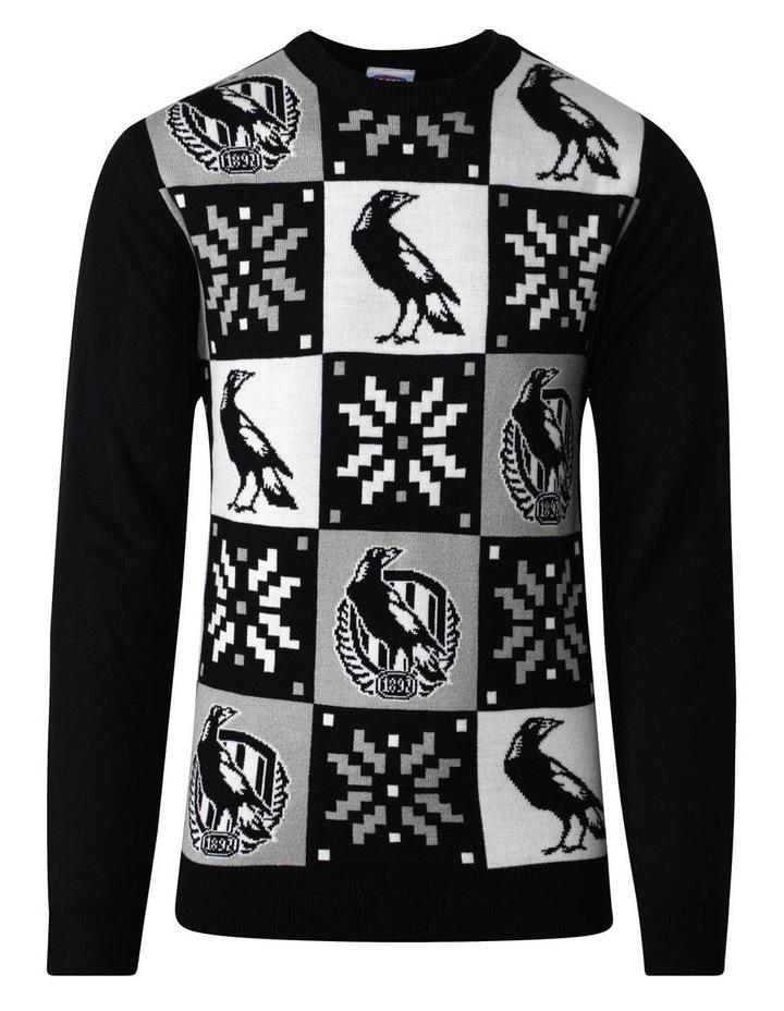 Collingwood Mens Xmas Sweater image 1