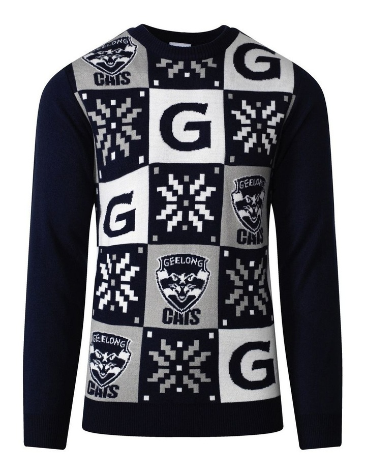 Geelong Mens Xmas Sweater image 1