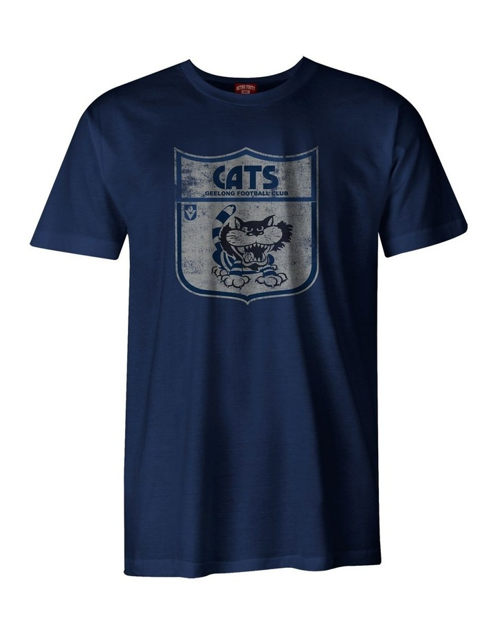 Cats Mens Vintage Tee image 1