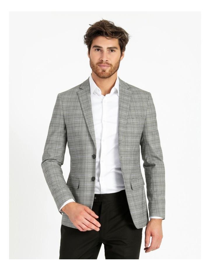 Landon Check Blazer Grey image 1