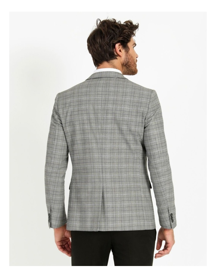 Landon Check Blazer Grey image 3