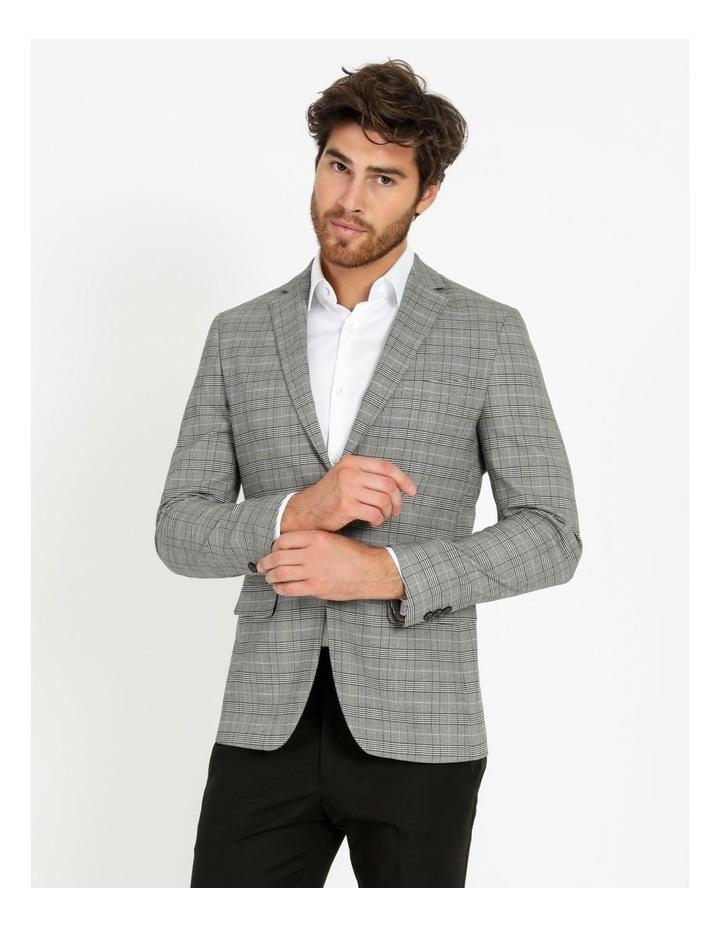 Landon Check Blazer Grey image 4