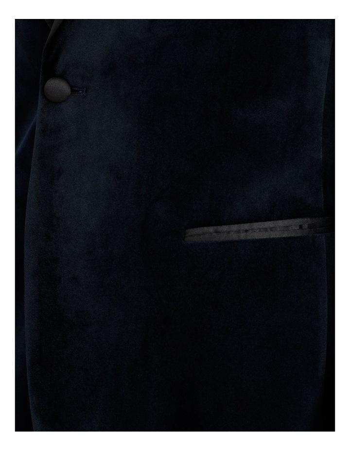 Bond Velvet Blazer Navy image 6