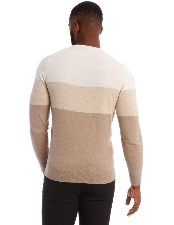 Espresso Block Stripe Knit image 4