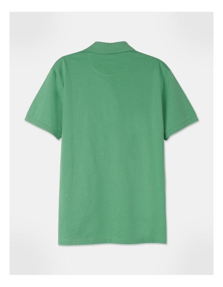 Premium Mercerised Plain Polo Green image 3