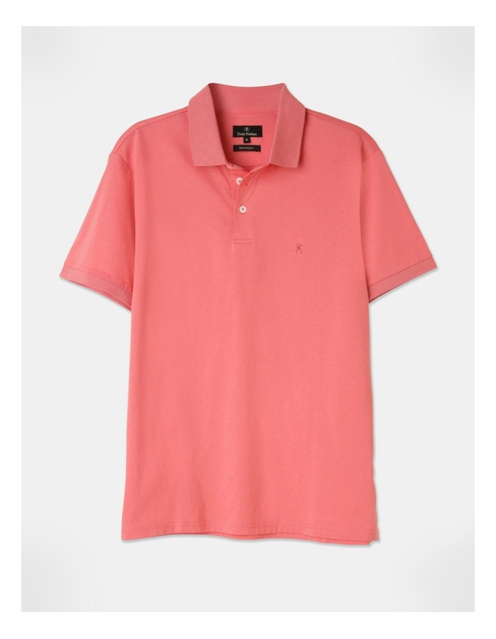 Premium Mercerised Plain Polo Pink image 1