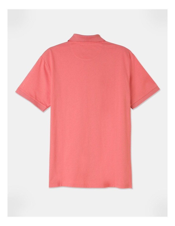 Premium Mercerised Plain Polo Pink image 3