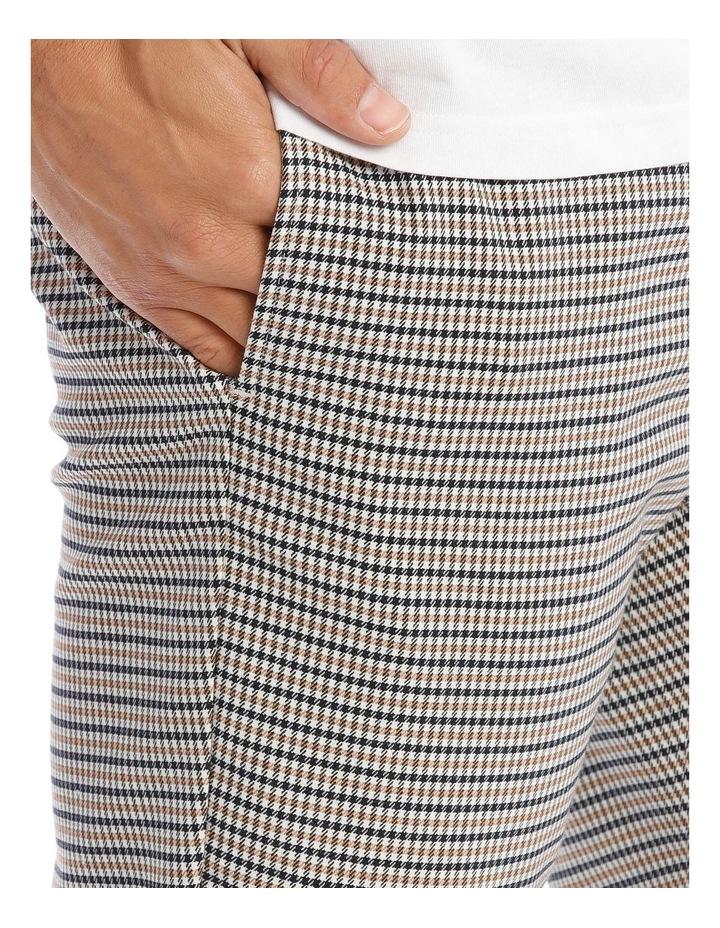 Rogers Check Elastic Waist Print image 4