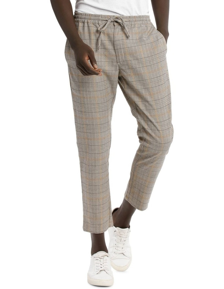 Sparrow Elastic Waist Check Pant image 1