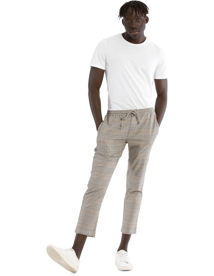 Sparrow Elastic Waist Check Pant image 2
