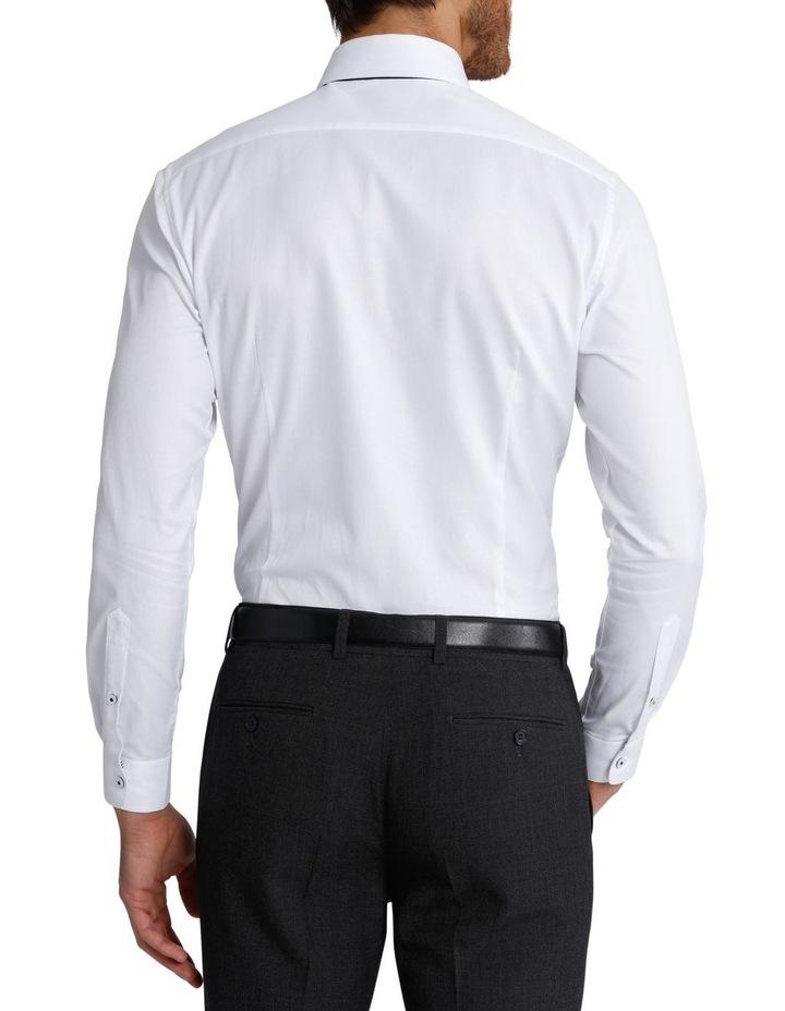 Slim Fit Dinner Self Stripe Business Shirt image 6