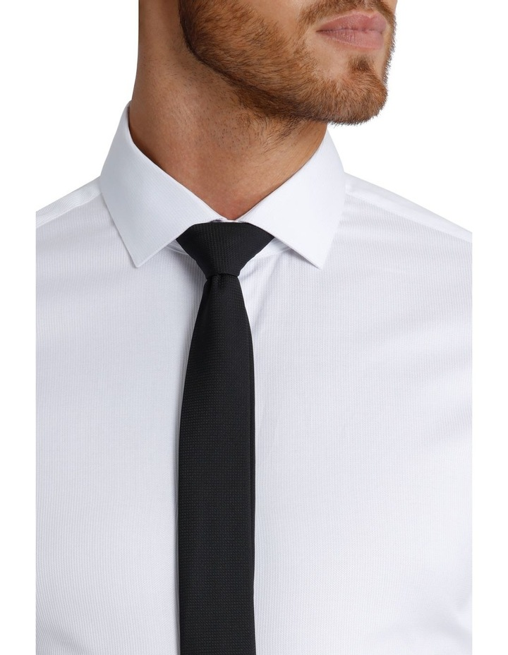Slim Fit Dinner Self Stripe Business Shirt image 4