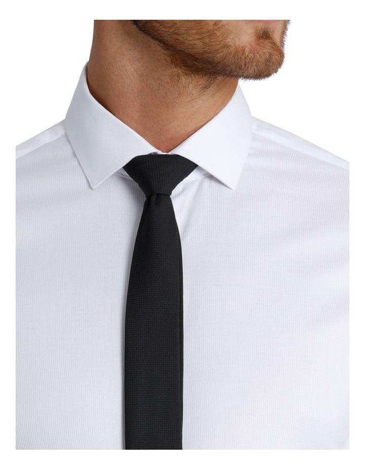 Slim Fit Dinner Self Stripe Business Shirt image 8