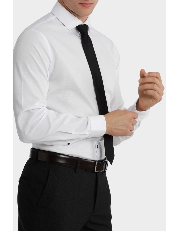 Tailored Fit Henry Business Shirt image 2