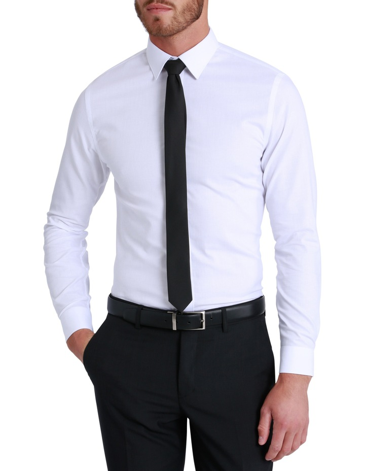 Slim Fit Harley Textured Plain Shirt image 1