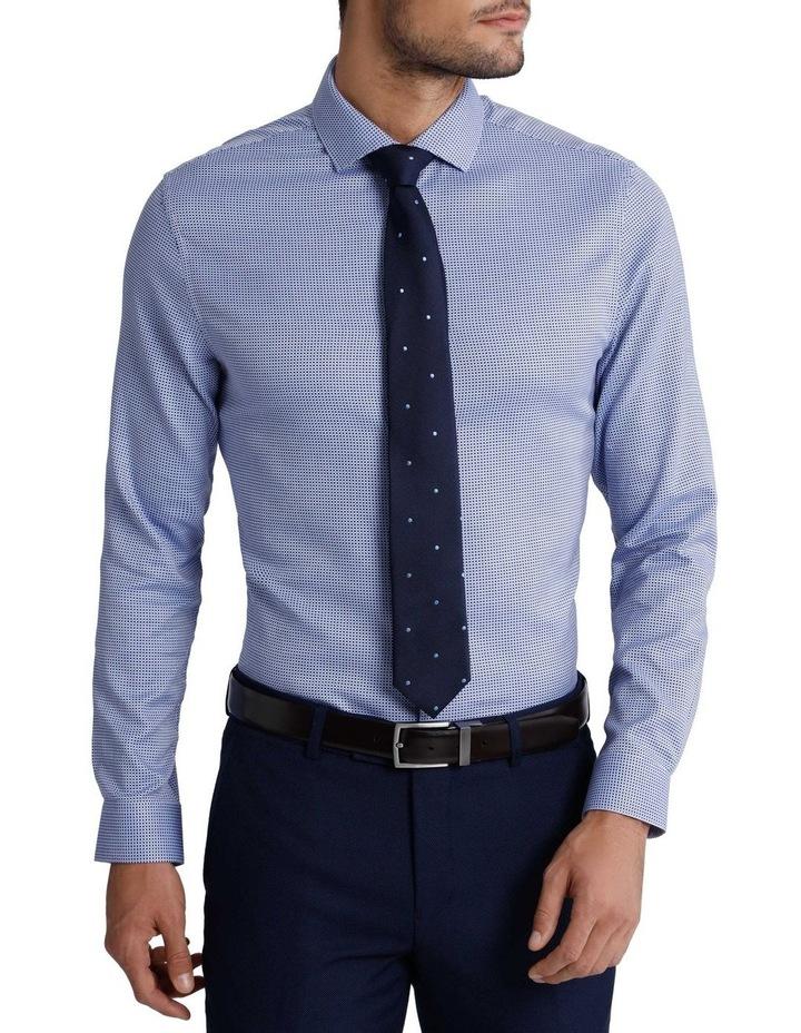 'Brady' Open Weave Check Business Shirt image 1