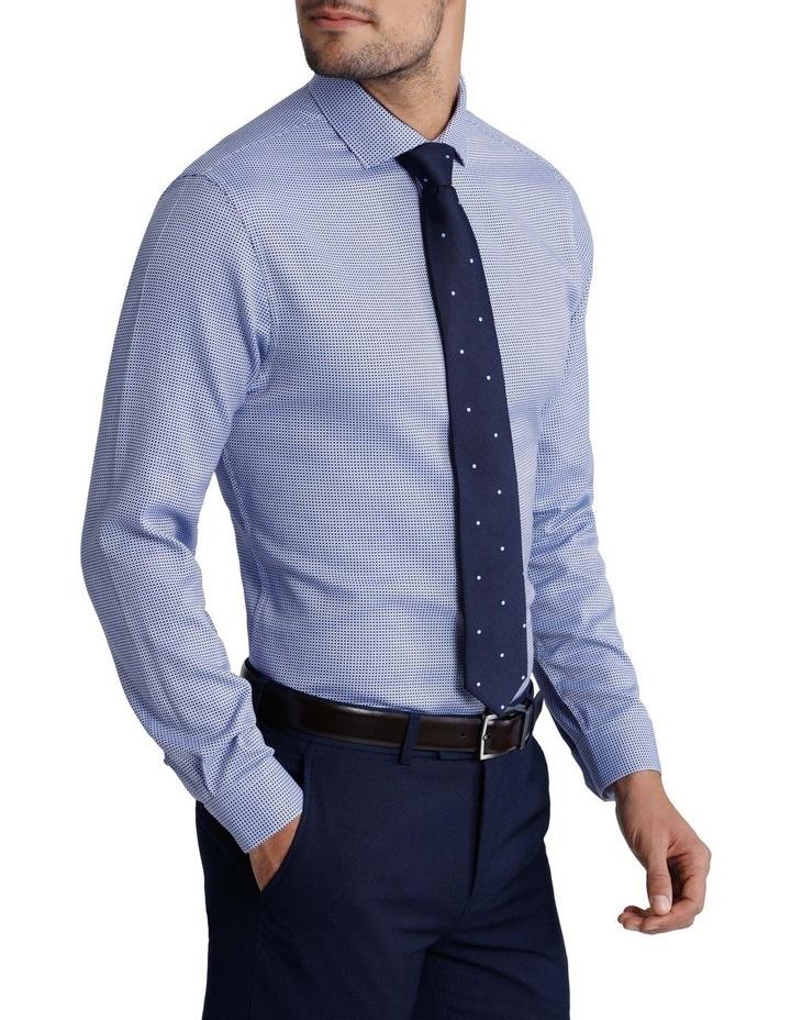 'Brady' Open Weave Check Business Shirt image 2