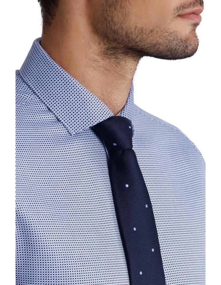 'Brady' Open Weave Check Business Shirt image 3